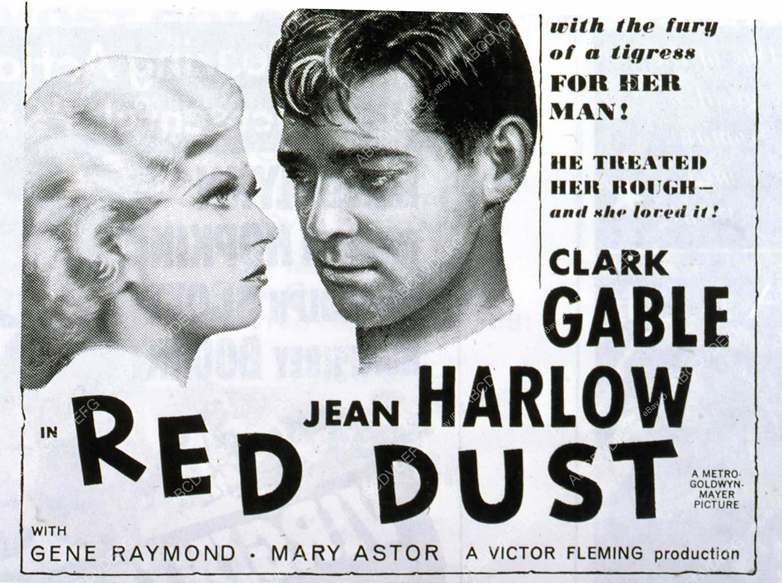 Red Dust with Jean Harlow and Clark Gable - YouTube